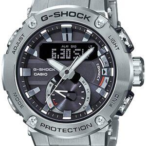 【正規品】カシオ CASIO Gショック Bluetooth? GST-B200(メタルベゼル) GST-B200D-1AJF グレー文字盤 新品 腕時計 メンズ (GST-B200D-1AJF)