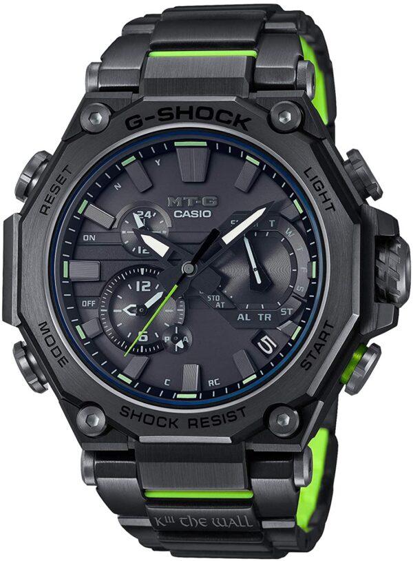 [カシオ] 腕時計 ジーショック SUNKUANZコラボレーションモデル MT-G Bluetooth 搭載 電波ソーラー デュアルコアガード構造 MTG-B2000SKZ-1AJR メンズ ブラック