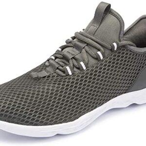 Newdenber] 蒸れない スニーカー メンズ 靴 軽量 すにーかー はきやすい ウォーキングシューズ 室内シューズ くつ メッシュ 25.0~30.0センチ 大きいサイズ