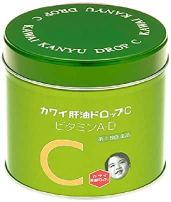 【指定第2類医薬品】カワイ肝油ドロップC 150粒