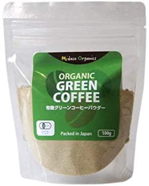 有機JAS認証オーガニック・グリーンコーヒービーンパウダー 100g