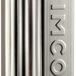 IMCO(イムコ) フリントオイルライター イムコ ジュニア 6600P ロゴ入り シルバー IM6661393